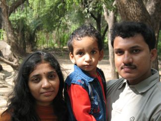 srinivas and family