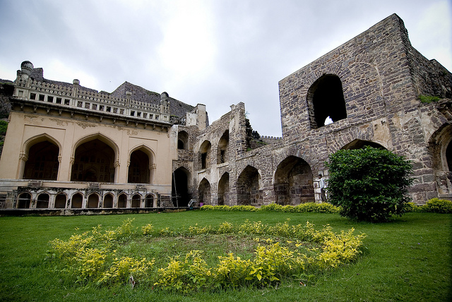 heritage monuments Hyderabad Golkonda Fort