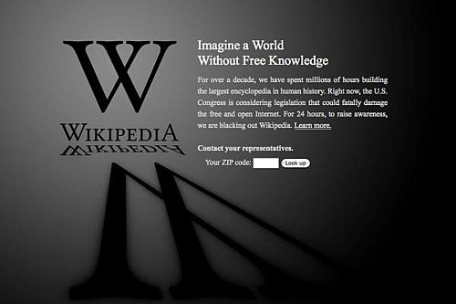 wikipedia blackout sopa