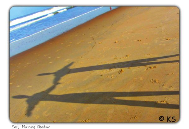 Things to do in Goa - Early morning shadow
