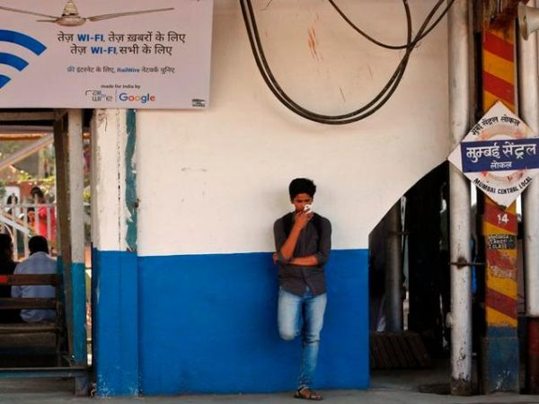 Wi-Fi Usage at Railway Station Mumbai Central