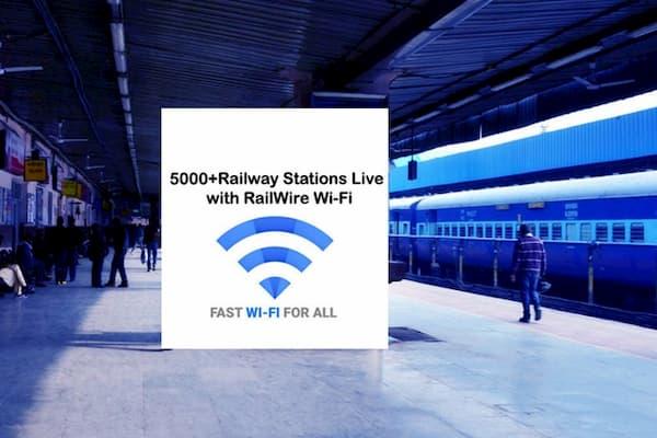wifi 5500+ Google free wifi railway stations