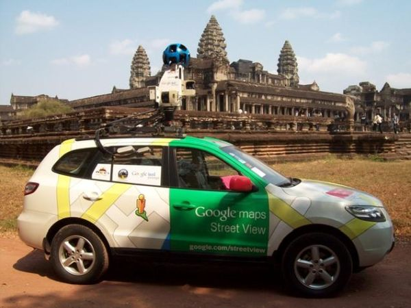google street view temple