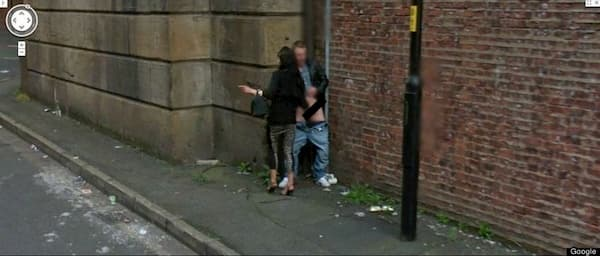 handjob blonde google maps street view funny