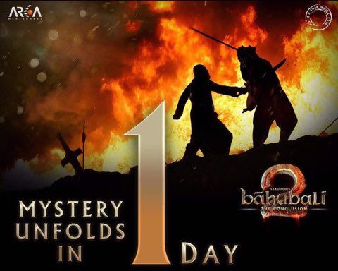 Baahubali 2: The Conclusion; the mystery unfolds