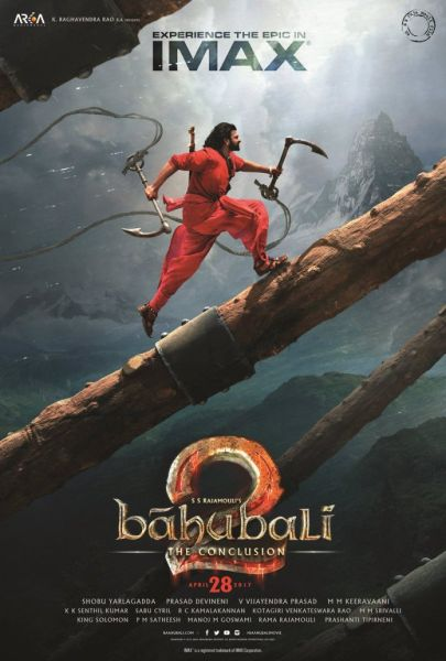 Baahubali 2: The Conclusion IMAX poster