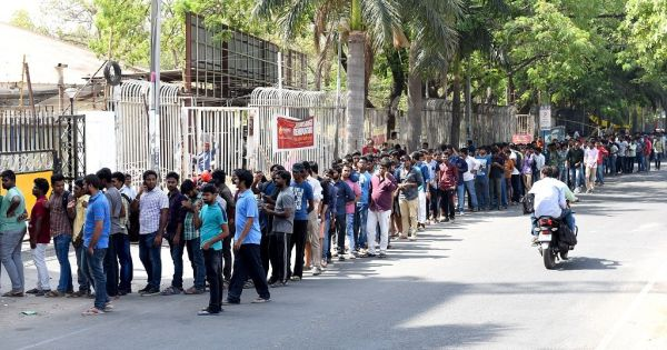 Sye Raa Narasimha Reddy movie queues before the best theatre