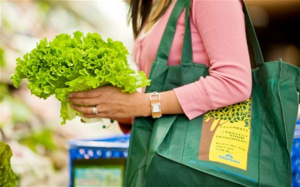 Get reusable shopping bag