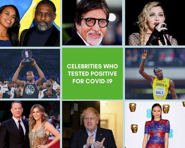 Celebrities Who Tested Positive for Covid-19