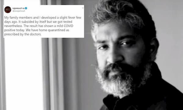 S.S. Rajamouli popular celebrity Who Tested Positive for Covid-19