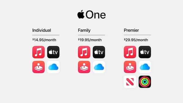 AppleOne plans